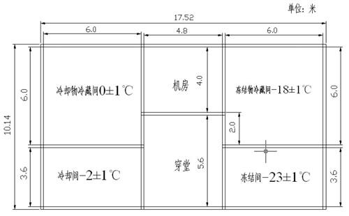 小型冷库设计图示例-肯德冷库